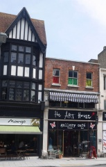 The Art House Gallery Cafe  -- The Art House Gallery Cafe : the venue for my Southampton walk and talk!