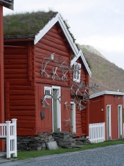 Kongsvoll Fjellstue -- Kongsvoll Fjellstue - the store houses